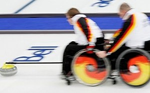 Paralympic Military Curling Camp