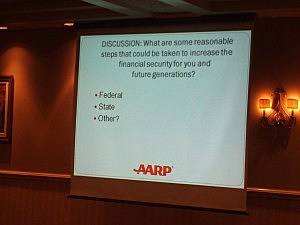 AARP Round Table Discussion