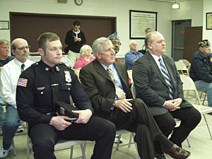 Officer Donald Moore Honored