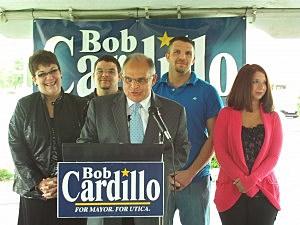 Mayoral candidate Robert Cardillo