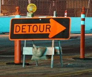 UPD Traffic Detour Alert