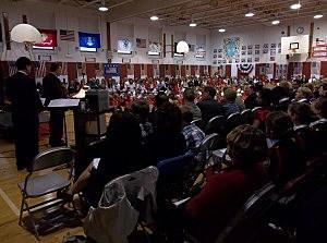 Frankfort-Schuyler Elementary School Veterans Day Tribute