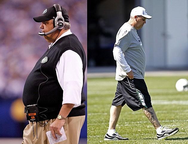 Rex Ryan Weight Loss Photos