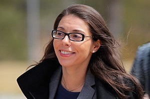 CENTENNIAL, CO - APRIL 01: Foxnews.com reporter Jana Winter returns to the court house after a midday recess to face Arapahoe County District Judge William Sylvester regarding evidence in the case of Aurora theater shooting suspect James Holmes at the Arapahoe County Justice Center on April 1, 2013 in Centennial, Colorado. Winter is facing contempt charges for not revelaing her sources that broke a gag order in the case. It was announced that District Attorney George Brauchler will seek the death penalty for suspect James Holmes who is charged with 166 counts of murder, attempted murder and other crimes in the Aurora theater shooting on July 20, 2012. (Photo by Doug Pensinger/Getty Images)