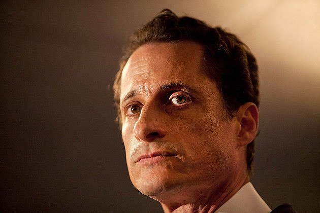NEW YORK, NY - JUNE 06: Rep. Anthony Weiner (D-NY) admits to sending a lewd Twitter photo of himself to a woman and then lying about it during a press conference at the Sheraton Hotel on 7th Avenue on June 6, 2011 in New York City. Weiner said he had not met any of the women in person but had numerous sexual relationships online while married. (Photo by Andrew Burton/Getty Images)