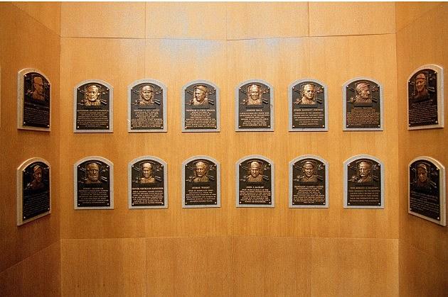 Wall of Plaques - Baseball Hall of Fame