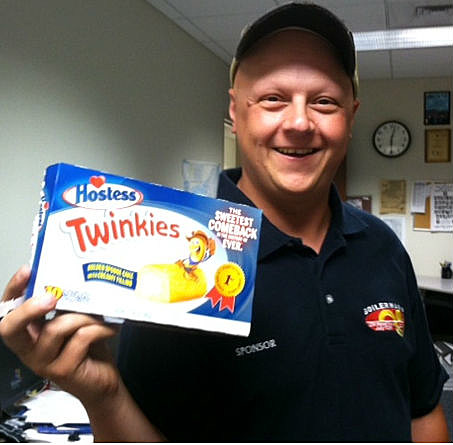 Twinkies are back and Davey has some!