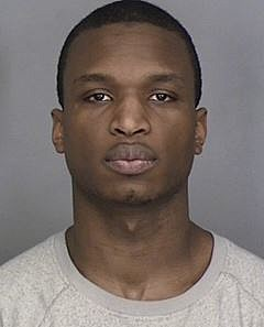 Derrick Carter is under arrest, charged with alleged involvement in the murder of Charles Digristine.