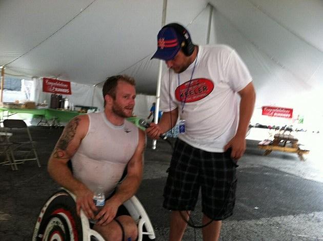 Josh Cassidy Wheelchair Athlete