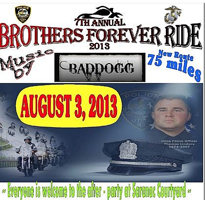 Brothers Forever Memorial Ride