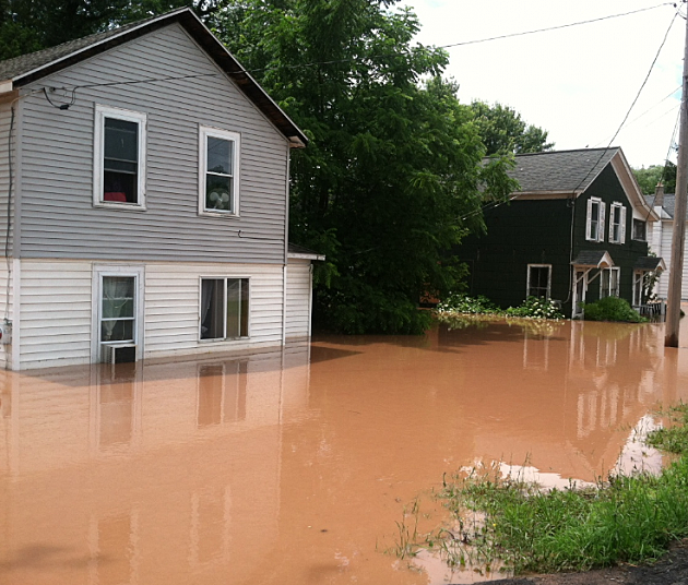 Flooding in the City of Oneida