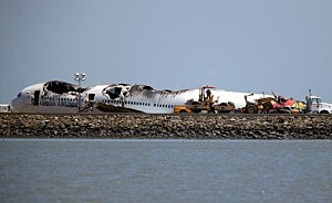 Asiana Airlines crash July 2013