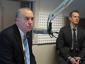 New York State Comptroller Thomas DiNapoli by Kristine Bellino, WIBX