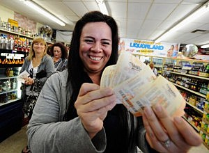 Mega Millions Jackpot by Kevork Djansezian, Getty Images