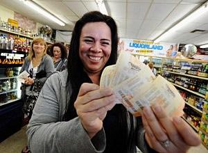 Mega Millions Jackpot by Kevork Djansezian, Getty Images