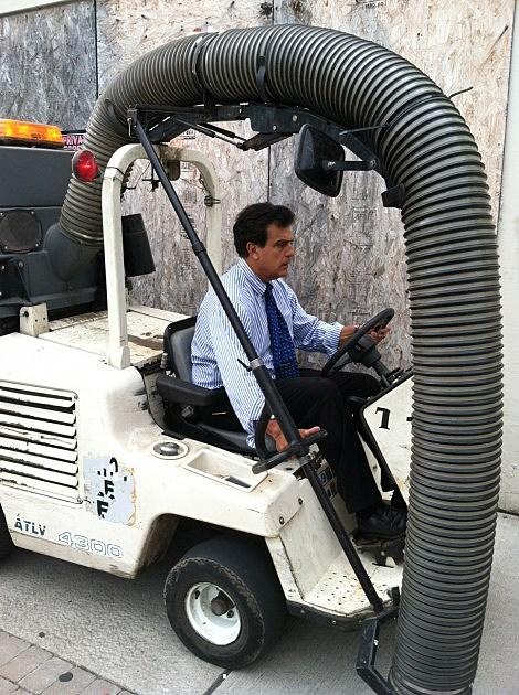 Mayor Palmieri Cleaning up Utica