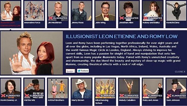 Leon and Romy on America's Got Talent