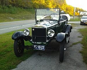 Father Sean's Model T