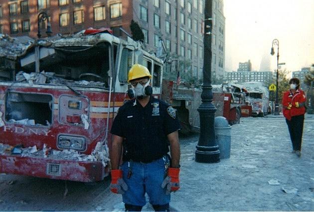 New York City Police Officer Harry Noriega September 11, 2001