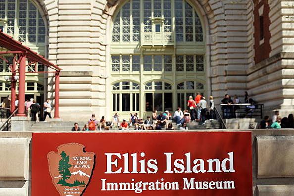 Ellis Island by Spencer Platt, Getty Images