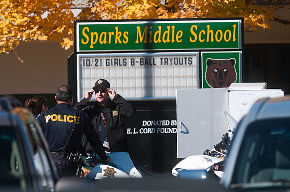 School Shooting In Nevada Leaves Two Dead, Two Critically Injured by David Calvert, Getty Images