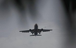 plane at Miami International Airport by Joe Raedle, Getty Images
