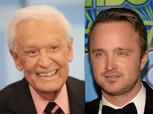 Bob Barker by Frederick M Brown Getty Images and Aaron Paul Sturtevant by Michael Buckner Getty Images