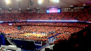 Carrier Dome - Syracuse vs. Duke, Feb 1, 2014