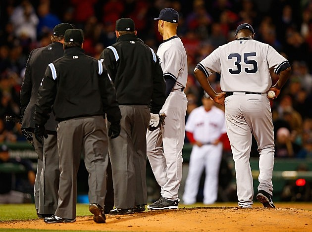 Michael Pineda ejected