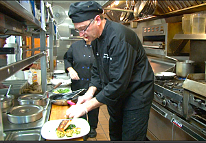 Chef Brian Benoit, Delta Lake Inn (June 2014)