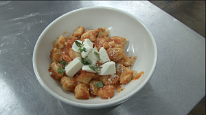 Charlie's Pizza makes homemade Gnocchi