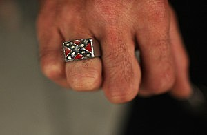 photo from Getty at Klan gathering in Tennessee