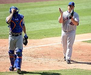New York Mets turn triple play vs Los Angeles Dodgers (August 24, 2014)
