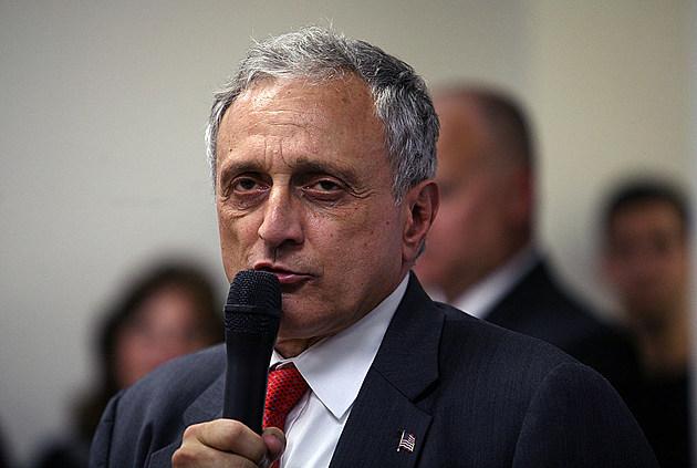 Republican Gubernatorial Candidate Carl Paladino Campaigns On Long Island