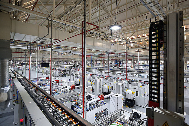 manufacturing plant