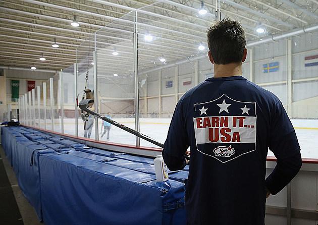 USA Blue v USA White - 2014 USA Hockey Junior Evaluation Camp