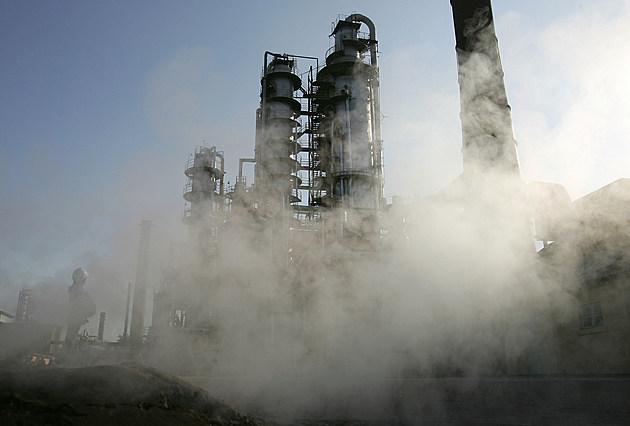 Labourers Worker At Dushanzi Petrol Chemical Factory In Xinjiang