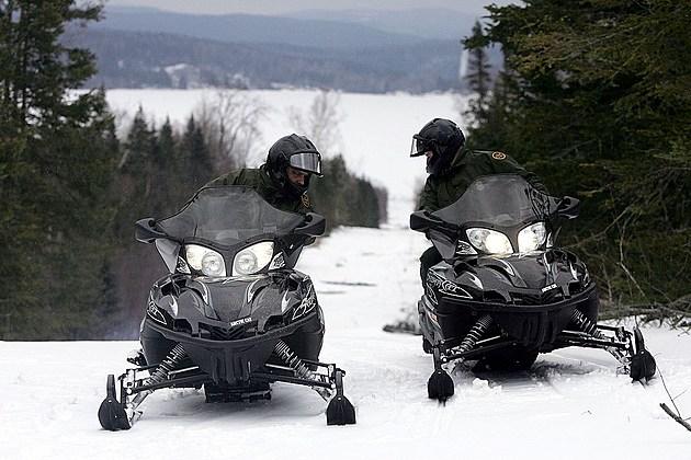 Border Patrol Works Along Vermont - Canada Border