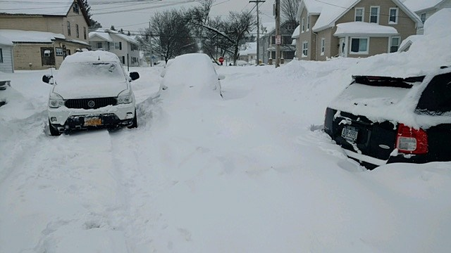Clementian Street - Utica, NY (photo: Rocco Cornacchia, 3/15/17)